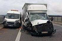 Tragická nehoda na I/50 u Kunovic, 4. srpna 2021