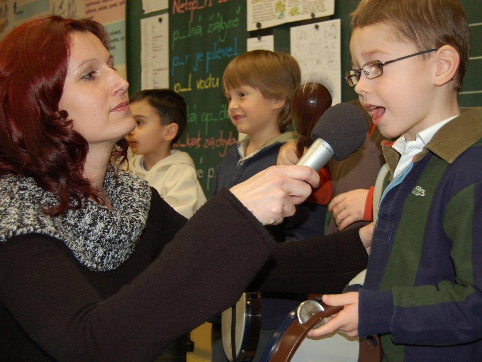 Vloni školu navštívily desítky dětí.