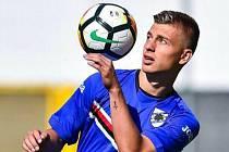 Slovenský mládežnický reprezentant Michal Tomič dříve hrával v Sampdorii Janov