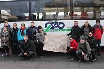 V úterý 27. prosince vyrazila třináctka zájemců z dopravního terminálu v Uherském Brodě do hlavního města Lotyšska, aby se zúčastnila celoevropského setkání křesťanské mládeže v Rize.
