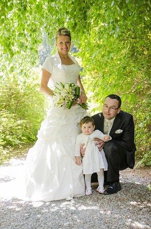 Soutěžní svatební pár číslo 112 - Hana a František Mlčochovi, Rataje.