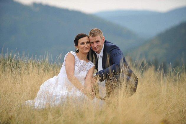 Soutěžní svatební pár číslo 160 - Monika a Jan Morávkovi, Valašské Klobouky