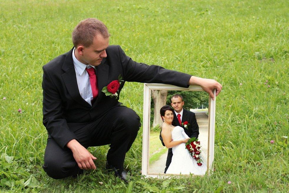 Soutěžní svatební pár číslo 193 - Monika a Luboš Millerovi, Šumperk.