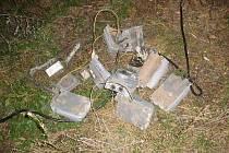 Zloděj z Břeclavska si chtěl odnést elektrosoučástky ze seníku v Medlovicích