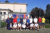 Burčákový tenisový turnaj v Babicích.