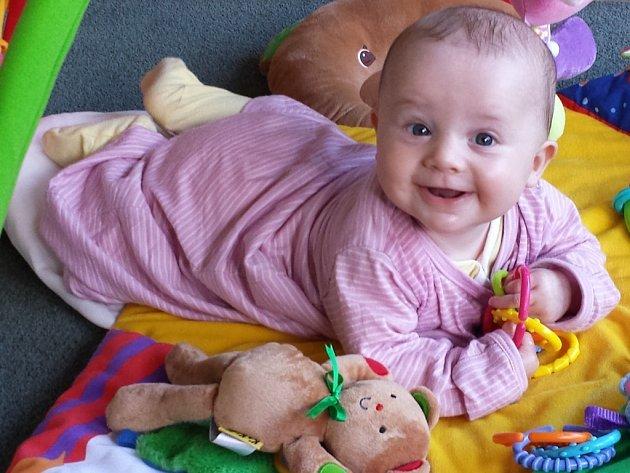 Ella, 4 měsíce.