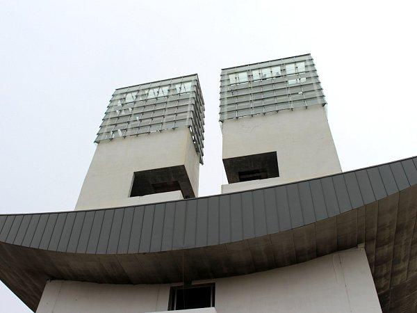 Kostel Svatého Ducha na náměstí Velké Moravy ve Starém Městě. Na jižní věži vznikne vyhlídka.