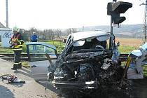 Při nehodě v Havřicích byly zraněny tři ženy.