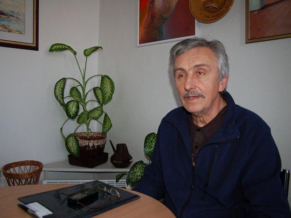 Ředitel a režisér Slováckého divadla Igor Stránský.