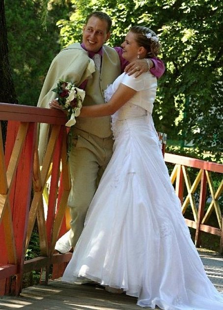 Soutěžní svatební pár číslo 170 - Martin a Zuzana Vítkovi, Luhačovice.