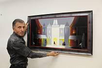 Cimbálová muzika Kunovjan a několik desítek milovníků umění se ve čtvrtek 14. listopadu v uherskohradišťské Galerii Vladimíra Hrocha účastnilo zahájení výstavy obrazů výtvarníka Ašota Arakeljana - Horněmčana s arménskými kořeny.