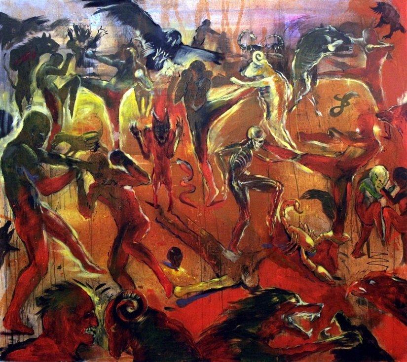 Výstava Martina Salajky v galerii Reduta v Uherském Hradišti.