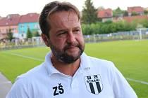 Trenér Strání Zdeněk Šebesta.