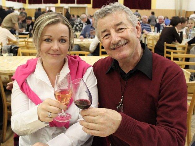 Vyznavači vína si přišli na jalubském koštu vína na své.