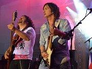 Vrchol nedělního programu zajistila legendární britská kapela Uriah Heep.