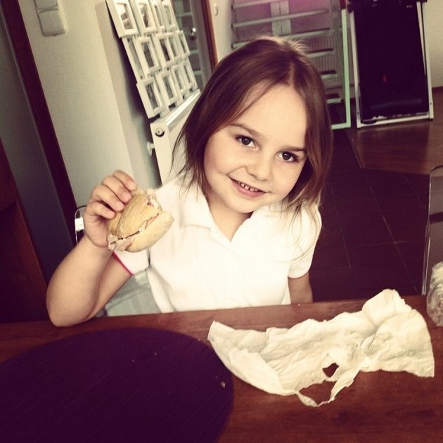 DOBROTA. Fotografii své dcery zaslala maminka Romana.