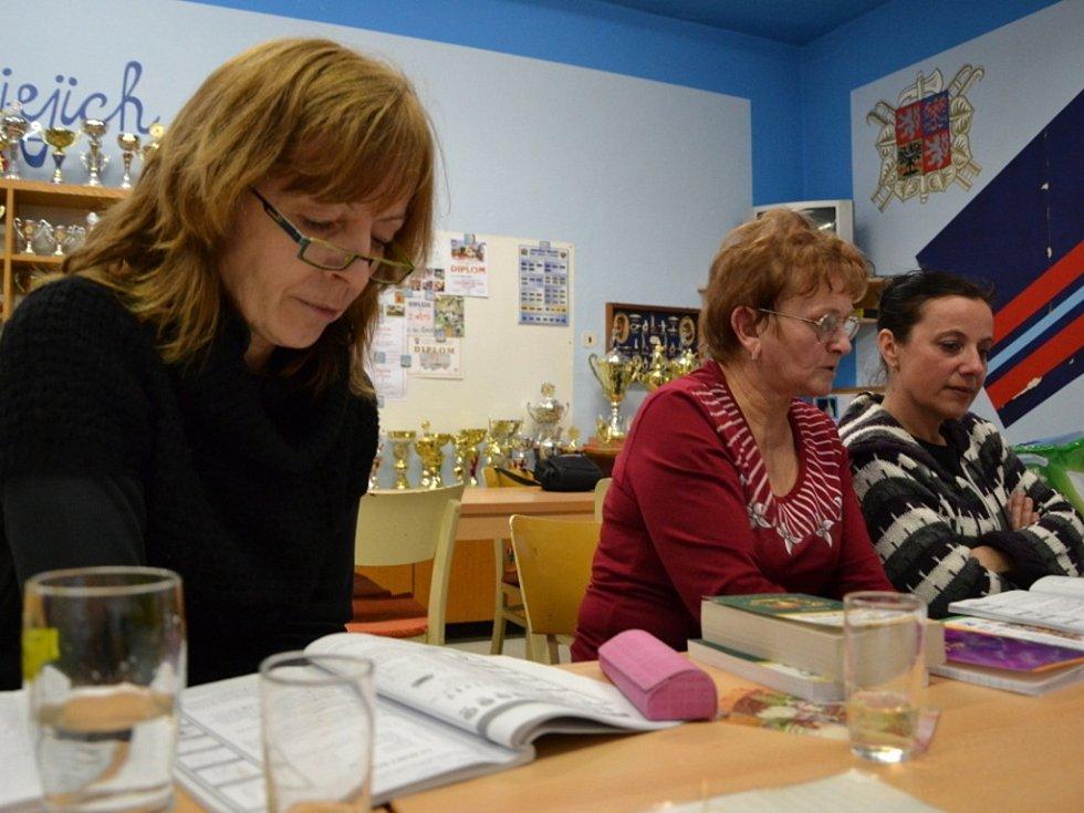 Esperantisté v Šumicích již stačili probrat několik lekcí.
