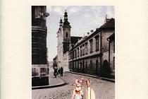Přebal knihy Zaniklá zákoutí Uherského Hradiště