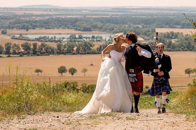 Soutěžní svatební pár číslo 202 - Kateřina a Ross McMath, Přerov, Vancouver