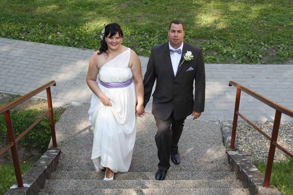 Soutěžní svatební pár číslo 101 - Markéta a Petr Paťavovi, Zlín