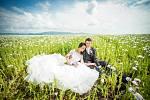 Soutěžní svatební pár číslo 112  - Klára a Adam Schmiedovi, Bystřice pod Hostýnem