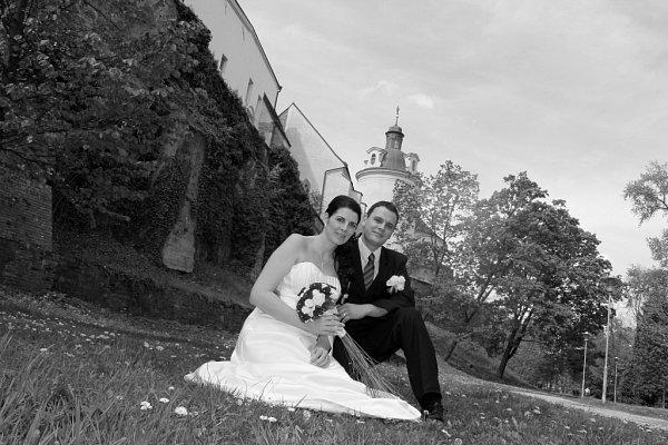 Soutěžní svatební pár číslo 85 - Ivana a Jan Feixovi, Olomouc.