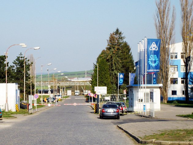 Slovácké strojírny v Uherském Brodě.
