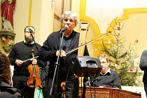 Jiří Pavlica s Hradišťanem odehráli v sobotu 6. ledna ve Vlčnově Vánoční koncert.