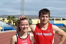 Kateřina Vávrová a Zdeněk Stromšík si svými výkony zajistili druhé příčky v evropských tabulkách.