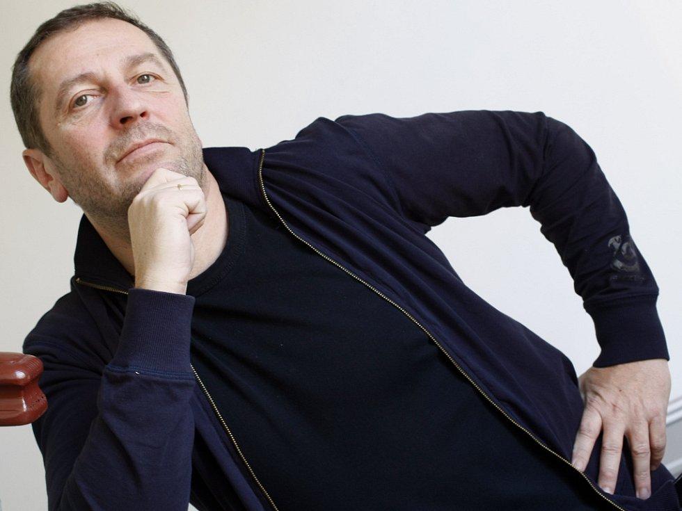 Karel Holas, lídr skupiny Čechomor.