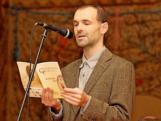 Místopředseda Matice velehradské Petr Hudec.