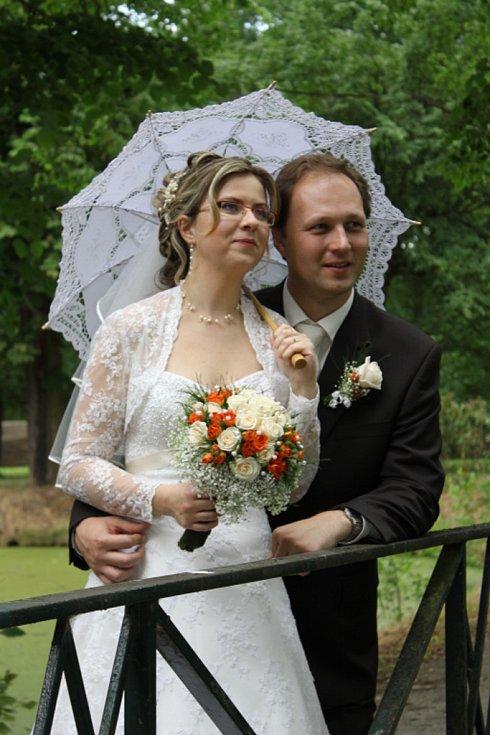 Soutěžní pár č. 88: Jarmila a Jiří Kopuncovi, Veselí nad Moravou
