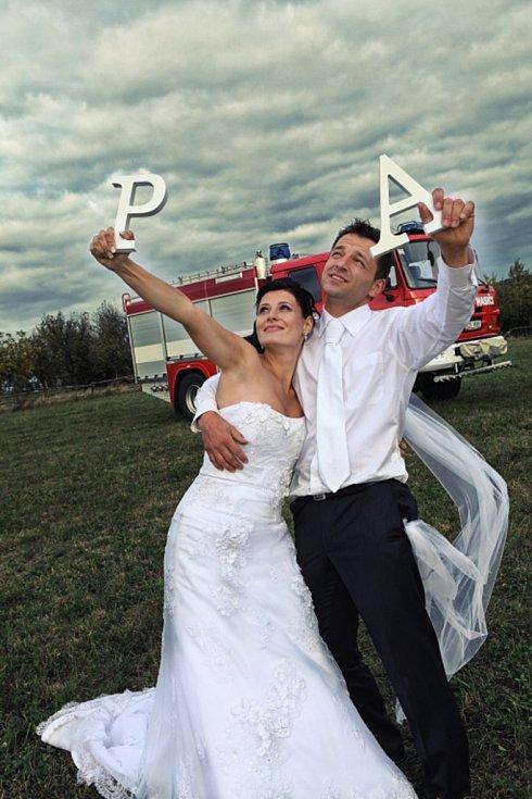 Soutěžní svatební pár číslo 11 - Andrea a Pavel Řezníčkovi, Velký Ořechov