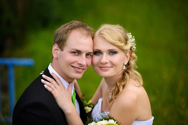 Soutěžní svatební pár číslo 124 - Adéla a Dalibor Novosadovi, Zlín