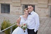 Soutěžní svatební pár číslo 22 - Hana a René Kábrtovi, Luká