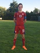 Útočník Slovácka Filip Vecheta se představí na republikovém finále Sportovní ligy základních škol v minifotbalu.
