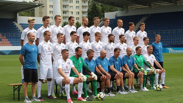 Fotbalisté 1.FC Slovácko absolvovali předsezonní tiskovou konferenci a oficiální fotografování.