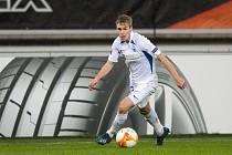Rodák z Uherského Hradiště Michal Beran v dresu Liberce pravidelně nastupuje v zápasech Evropské ligy.
