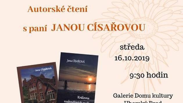 V Uherském Brodě bude autorské čtení.
