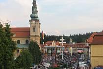 Tisíce lidí zavítalo v sobotu večer na Koncert lidí dobré vůle.
