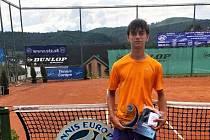 Tenista Josef Zapletal si podmanil mezinárodní turnaj na Slovensku.