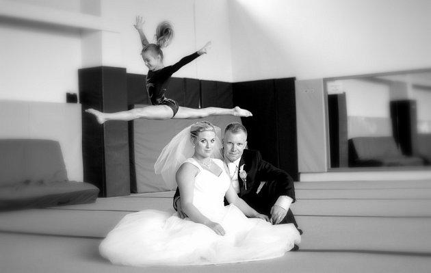 Soutěžní svatební pár číslo 63 - Tereza a Marek Cigánkovi, Přerov-Čekyně.