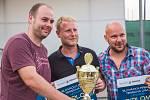 Vítězný tým Tradixu ve složení Radek Křen, Radim Straka a Milan Vyorálek.