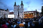 CARMINA BURANA. Koncert ke 100. výročí založení Československa. Masarykovo náměstí. Uherské Hradiště.