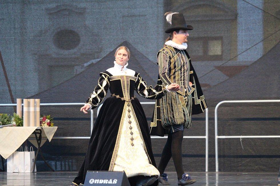 Dny evropského dědictví. Slavnostní zahájení na Masarykově náměstí v Uherském Hradišti.