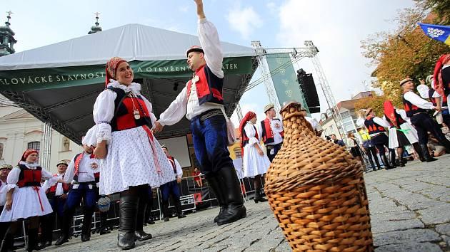 Slovácké slavnosti vína. Ilustrační foto