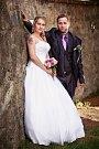 Soutěžní svatební pár číslo 71 - Zuzana a David Langovi, Šternberk