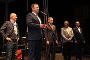 Úvodní slovo si vzal starosta Uherského Hradiště Stanislav Blaha.