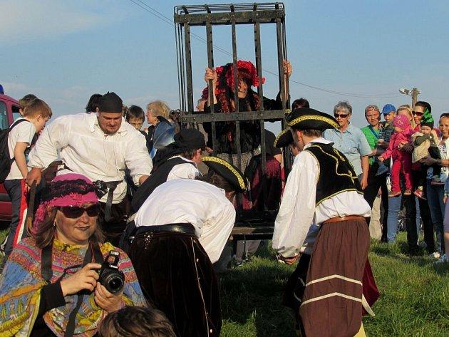Slet čarodějnic v Uherském Ostrohu