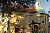 Kaple svatého Antonína Paduánského.